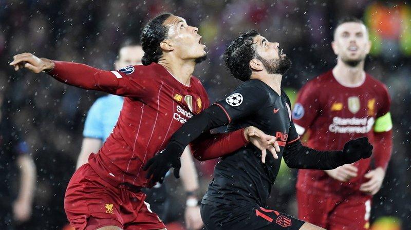 Football - Ligue des champions: l'Atletico élimine le tenant du titre Liverpool après prolongations