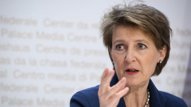 Coronavirus: pour mobiliser les Suisses, Simonetta Sommaruga leur adresse une lettre
