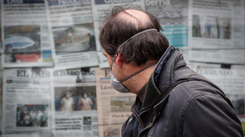 Coronavirus: 832 morts en 24 heures en Espagne, nouveau record dans le pays