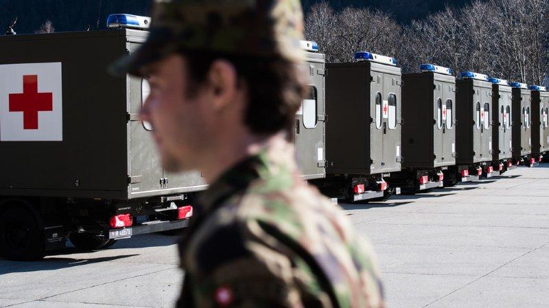 Coronavirus: comment fonctionne le déploiement de l'armée?