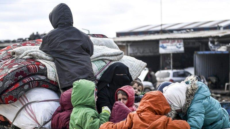 L'assaut sur Idleb a fait près d'un million de déplacés