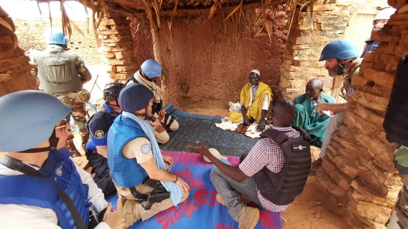 Experts suisses à la police  de Bamako