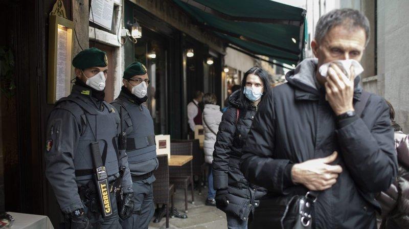 Le virus affole l'Italie