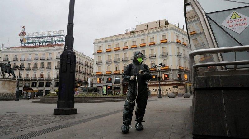 Dans le dur, l'Espagne redoute le pire
