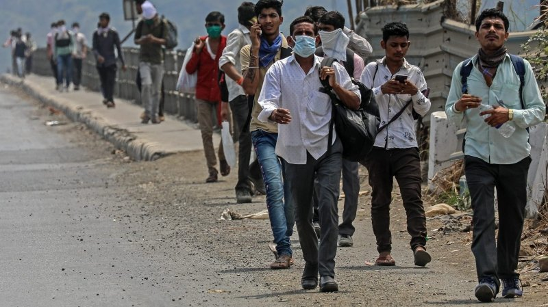 L'Inde assigne à résidence  1,3 milliard d'individus