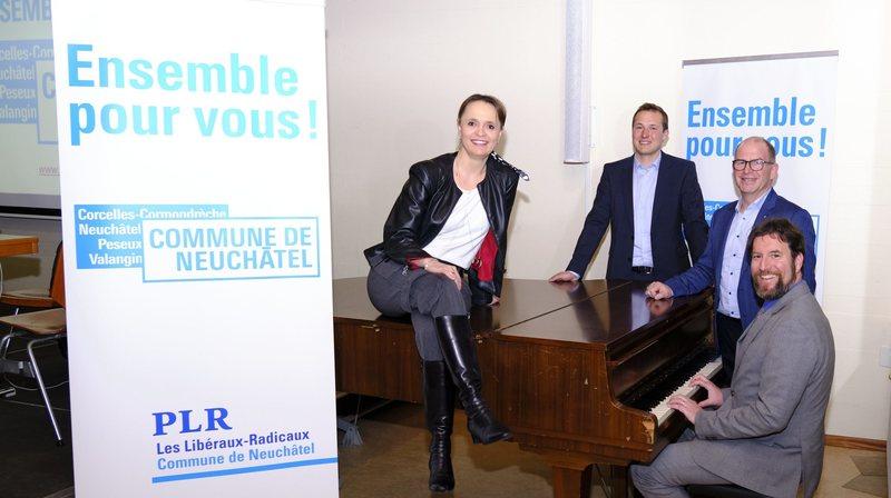 Neuchâtel: les ambitions du PLR pour le Conseil communal de la commune fusionnée