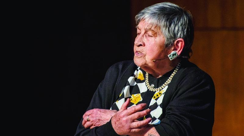 L'une des dernières survivantes d'Auschwitz raconte l'horreur des camps de la mort