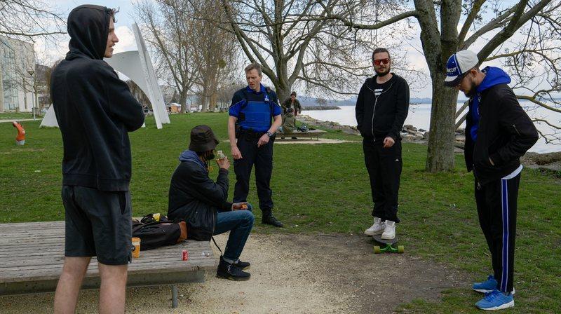 «Le message est passé»: la police trouve les Neuchâtelois plutôt disciplinés