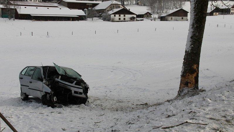 Accident de la route: un blessé grave dans le Jura
