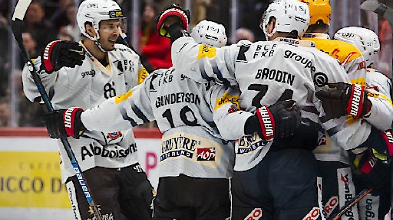 Hockey sur glace: Lausanne perd encore face à Fribourg