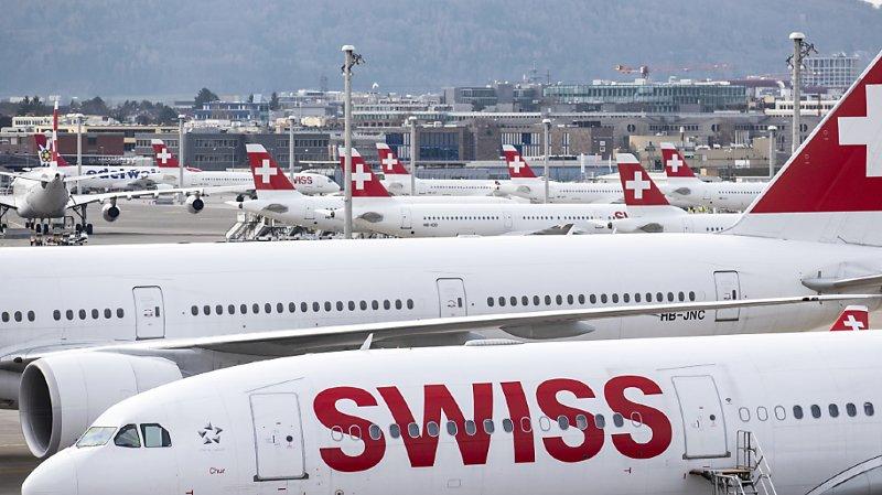Transport aérien: Swiss fait face à des pertes massives en raison du Covid-19