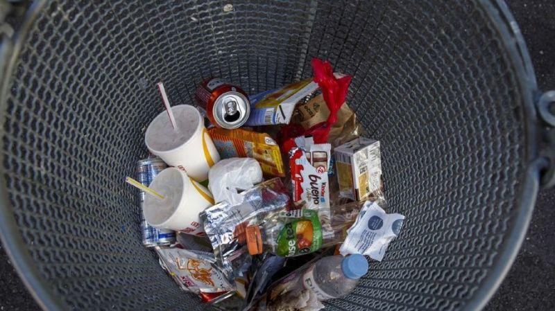 La moyenne européenne est de 492 kilos de déchets urbains produits. (ILLUSTRATION).