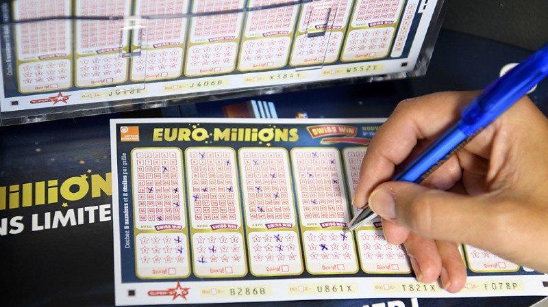 Mardi prochain, la cagnotte de l'Euro Millions s'élèvera à 69 millions de francs. (Illustration)