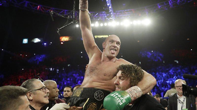 Boxe: impérial, Tyson Fury s'est emparé de la ceinture WBC des poids lourds