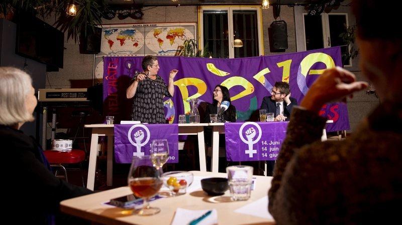 Le premier café féministe s'est tenu à Neuchâtel