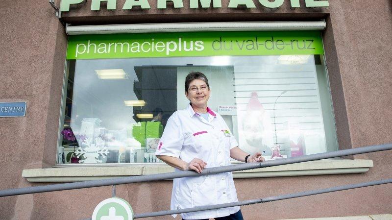 Fontainemelon: la pharmacienne passe le flambeau en plein coronavirus