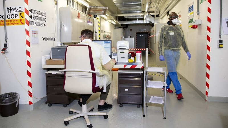 Coronavirus: comment les hôpitaux neuchâtelois repèrent les malades