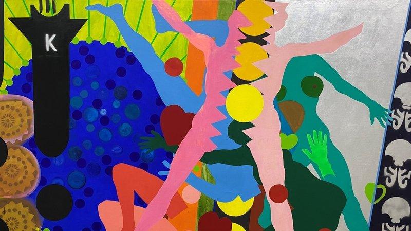 La Chaux-de-Fonds: Kiki Kogelnik, une comète dans l'univers très masculin du pop art