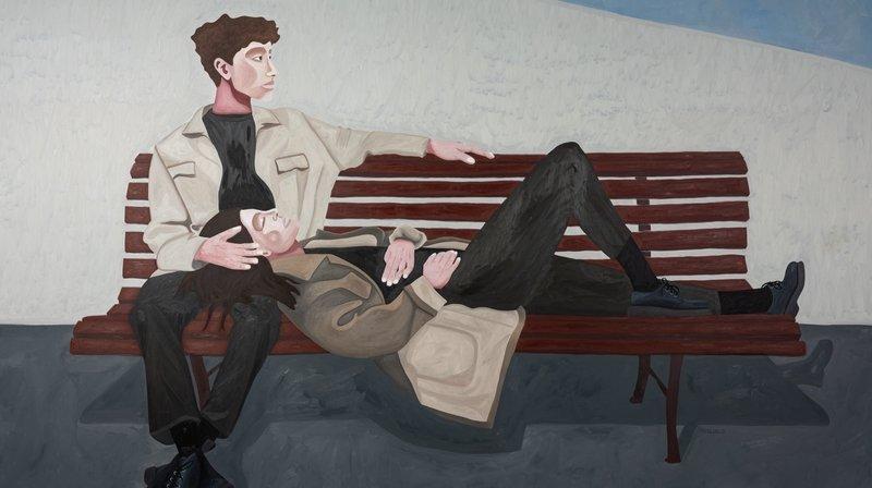 La Chaux-de-Fonds: Malik Jeannet expose ses toiles prometteuses à la galerie la Demoiselle