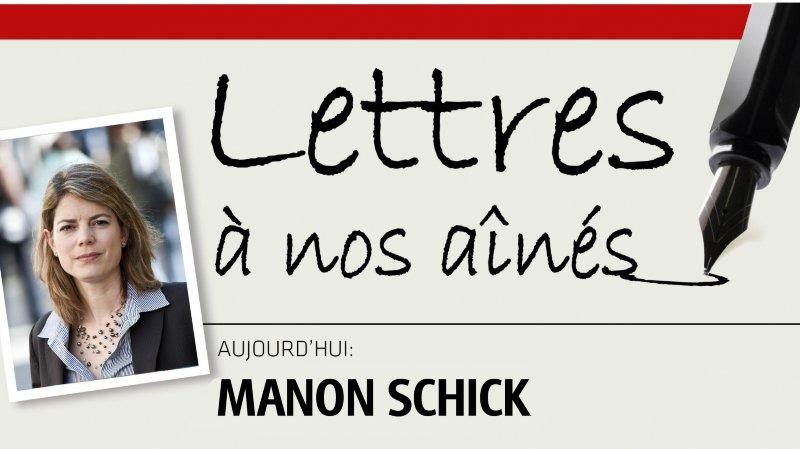 Directrice d'Amnesty international Suisse, Manon Schick écrit aux aînés
