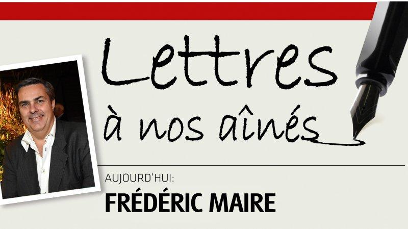 Le directeur de la Cinémathèque suisse Frédéric Maire écrit à nos aînés