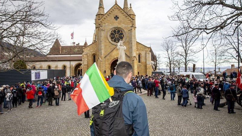 La Marche du 1ermars a «frôlé» les mille participants