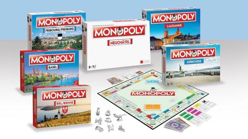 Une édition neuchâteloise du Monopoly sortira cet automne