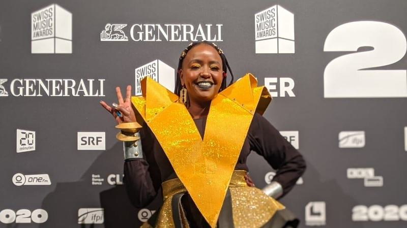 Muthoni Drummer Queen remporte un prix aux Swiss Music Awards