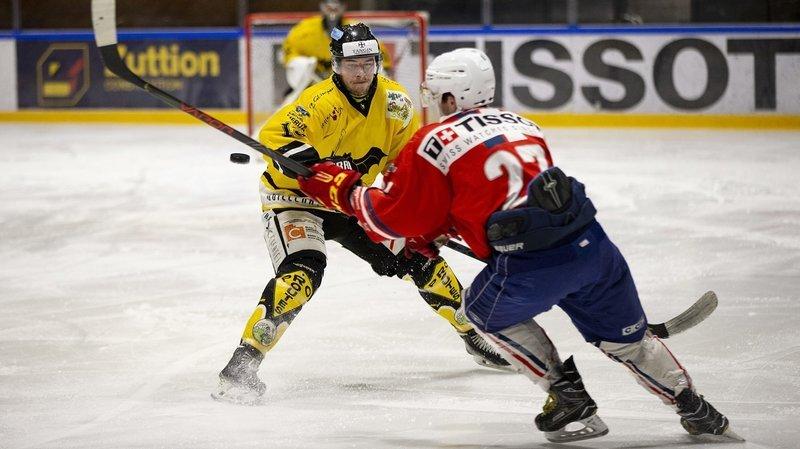 Le HC Saint-Imier prend l'avantage contre Université Neuchâtel