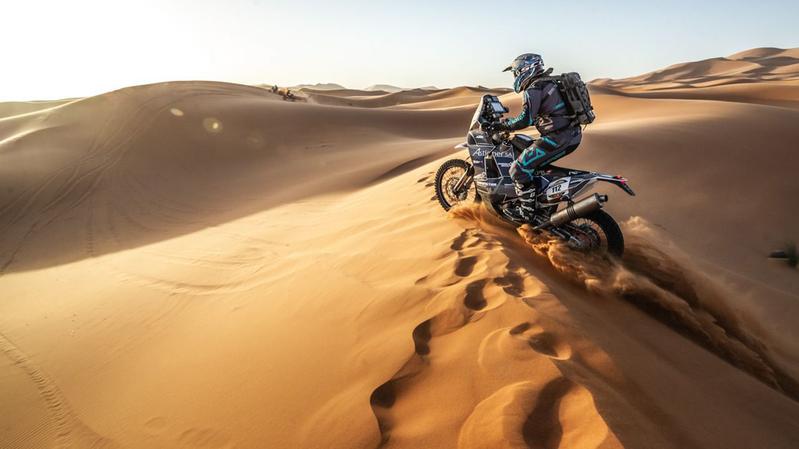 Le team Edelweiss en piste pour le Dakar 2022