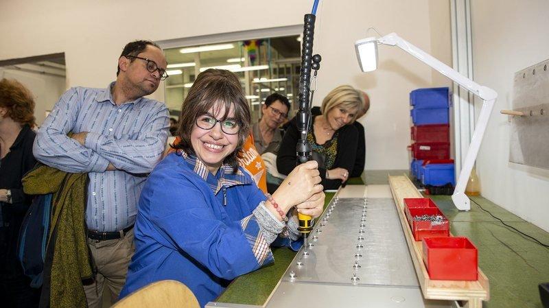 Les Perce-Neige inaugurent leurs nouveaux ateliers à La Chaux-de-Fonds