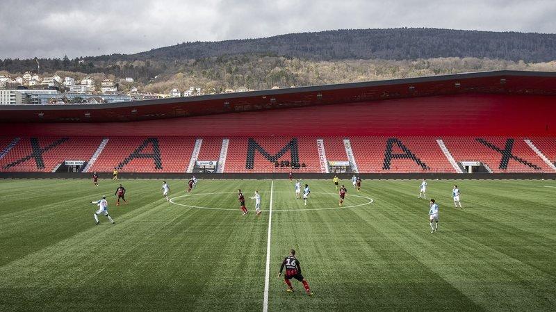 Le coronavirus force Xamax à jouer un match sans enjeu dans un stade vide