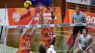 Volleyball: le NUC bat Lugano et se qualifie pour les demi-finales des play-off