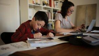 Ecole à la maison: une famille neuchâteloise raconte