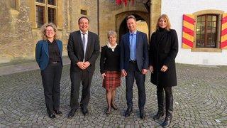L'ambassadrice canadienne en visite à Neuchâtel
