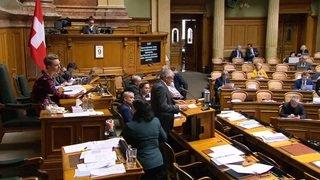Le Parlement s'attaque à l'initiative «Stop à l'îlot de cherté»