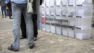 Eclairage: «Transparence: les élus entendent le message»