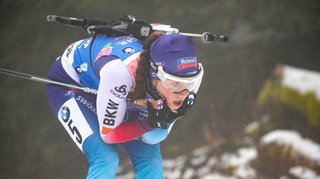 Biathlon: Selina Gasparin termine 2e à Kontiolahti