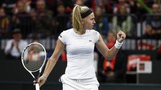 Tennis – Tournoi de Doha: Jil Teichmann battue en trois sets par Jelena Ostapenko