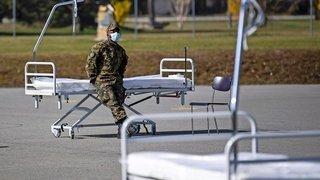 La Suisse va manquer de lits en soins intensifs