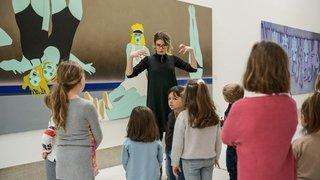La Chaux-de-Fonds: quand des enfants revisitent le pop art
