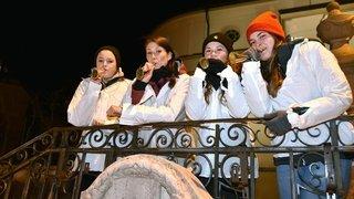 Saignelégier: pour la première fois, des filles ont fait baitchai