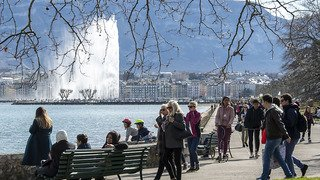 Météo: le mercure a frôlé les 20 degrés en Suisse romande