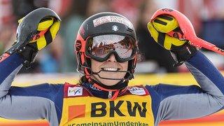 Ski alpin: les Suissesses battues au combiné de Crans-Montana, Brignone intouchable