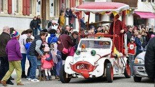Cortège du carnaval du Noirmont