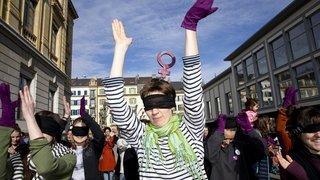Neuchâtel: la journée internationale des droits des femmes en images