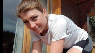 Joanna Ryter: «Je vais installer une piscine pour enfant dans mon garage pour nager»