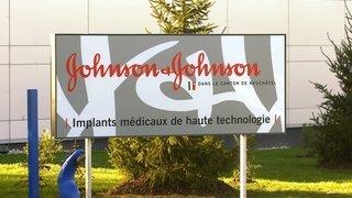 Coronavirus: Johnson&Johnson fermé pour désinfection à Neuchâtel