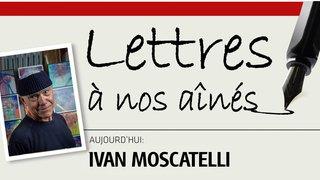 Coronavirus: l'artiste Ivan Moscatelli écrit à nos aînés