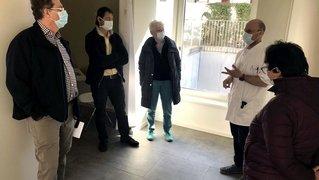 Covid-19: une structure médicale dédiée aux patients suspects a ouvert au Landeron